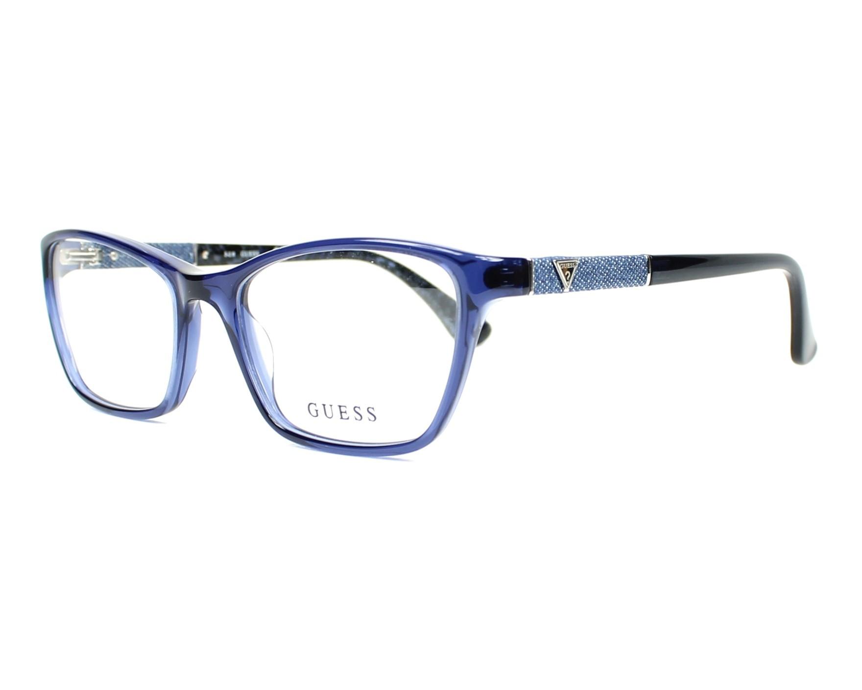 Guess Eyeglasses GU-2594 090 Purple | visio-net.com
