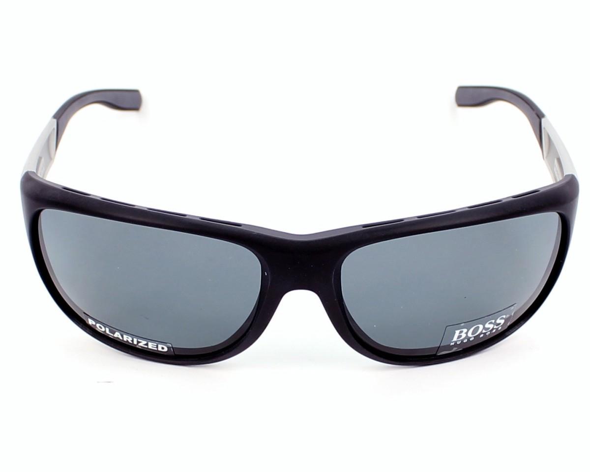 ff8a00d504 Sunglasses Hugo Boss BOSS-0606-PS MZA RA - Black Aluminium front view