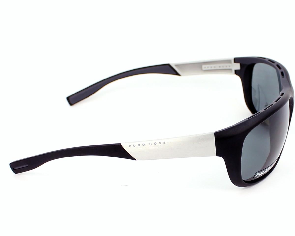 0d67123ba5 Sunglasses Hugo Boss BOSS-0606-PS MZA RA - Black Aluminium side view