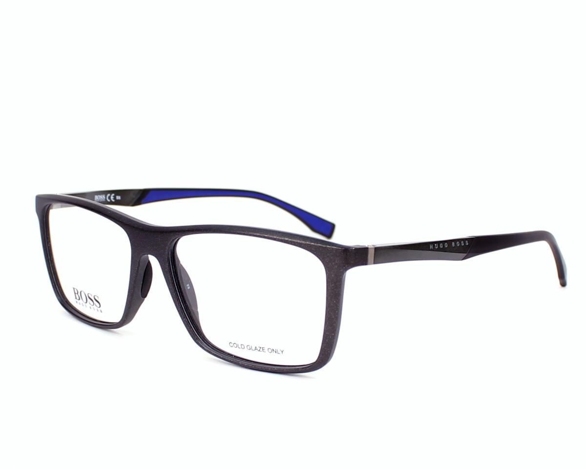 Hugo Boss Eyeglasses BOSS-0708 H4F Grey Horn | visio-net.com