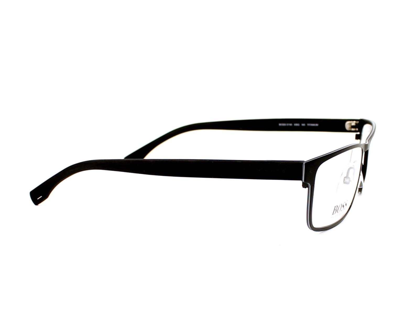 e3b3942d84 eyeglasses Hugo Boss BOSS-0740 KBQ 56-17 Black Grey side view