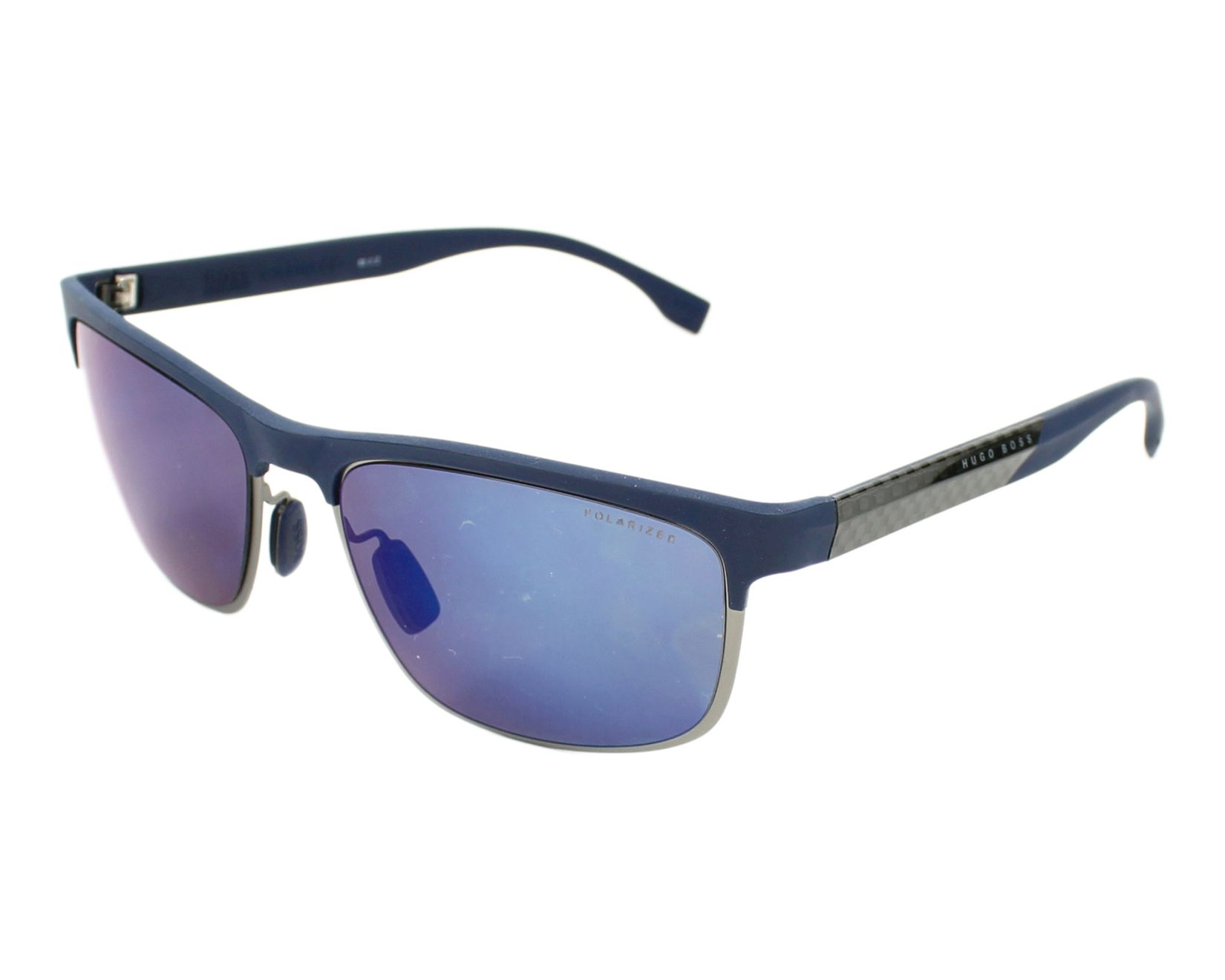 29b0dc5108 Sunglasses Hugo Boss BOSS-0835-S ILG 5X 58-18 Blue Gun