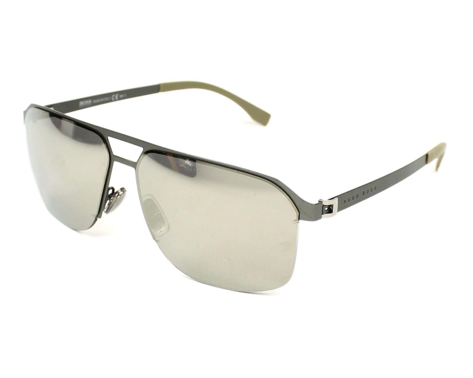 7323a3651e67c Sunglasses Hugo Boss BOSS-0839-S R80 M3 61-14 Gun profile