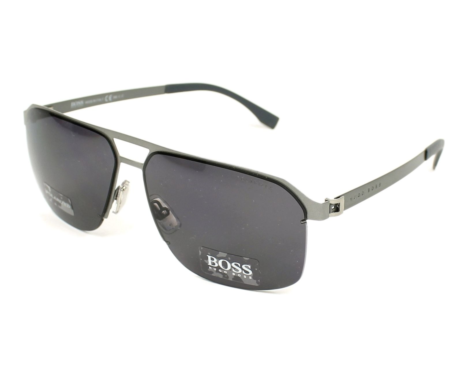 f9ef3aa7e8faf Sunglasses Hugo Boss BOSS-0839-S R81 3H 61-14 Gun profile