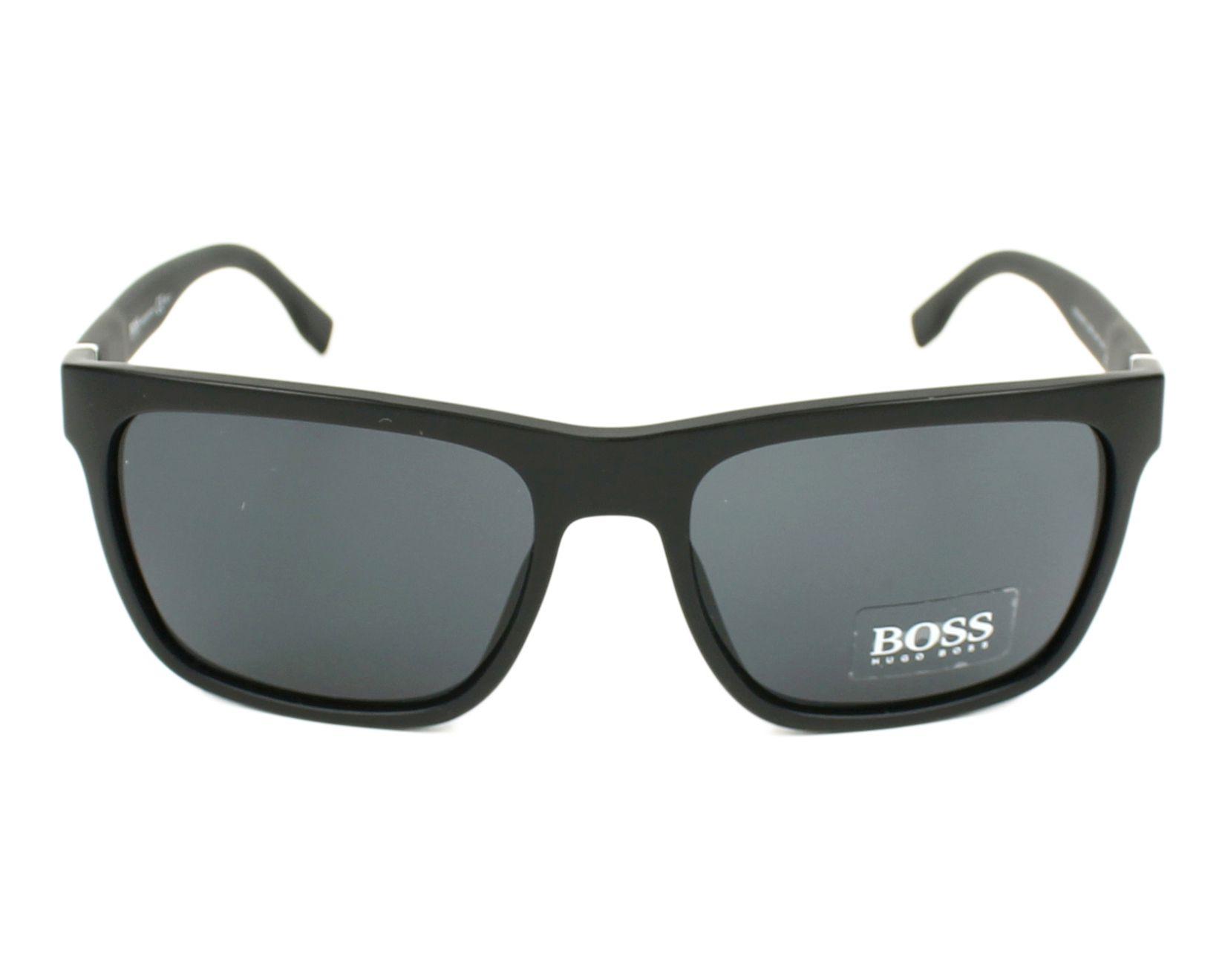 79f33d80d5273 Sunglasses Hugo Boss BOSS-0918-S DL5 IR 56-18 Black Black