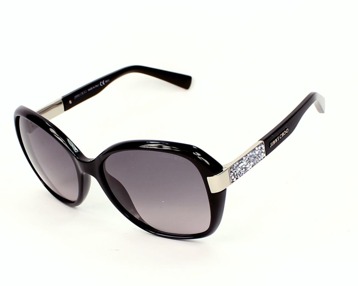 thumbnail Sunglasses Jimmy Choo ALANA-S D28 EU - Black Silver profile view 217ac8c393