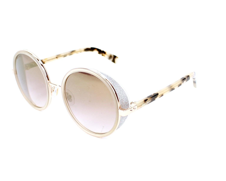 d19ceee1791b Sunglasses Jimmy Choo ANDIE-S J7A NH 54-21 Pink Havana profile view
