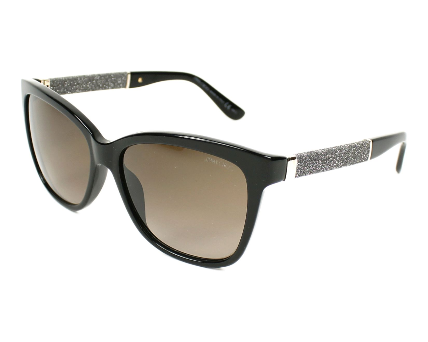 5f828dad3c4 thumbnail Sunglasses Jimmy Choo CORA-S FA3 J6 - Silver Black profile view