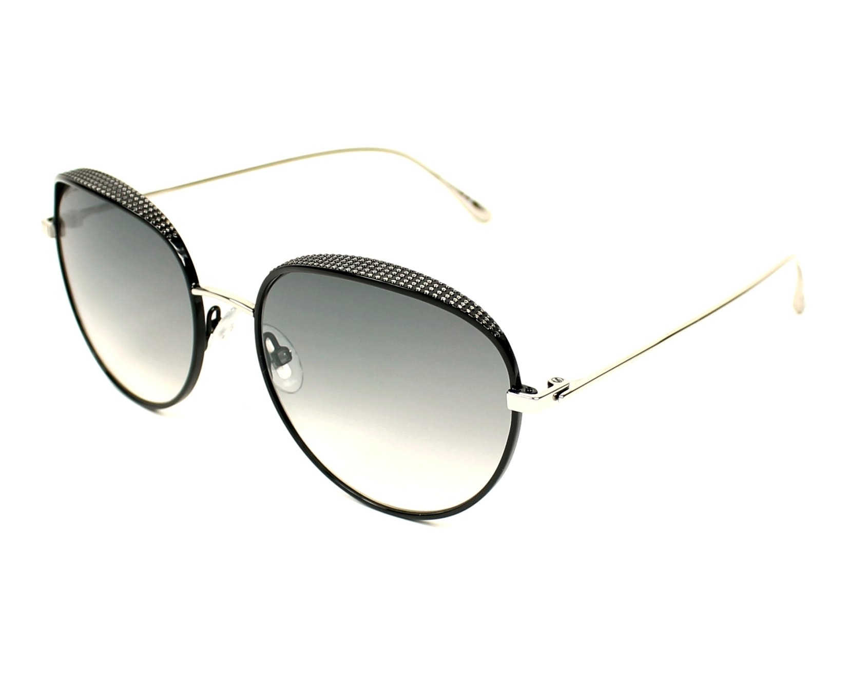 Jimmy Choo Sunglasses Silver With Grey Lenses Ello S Jin