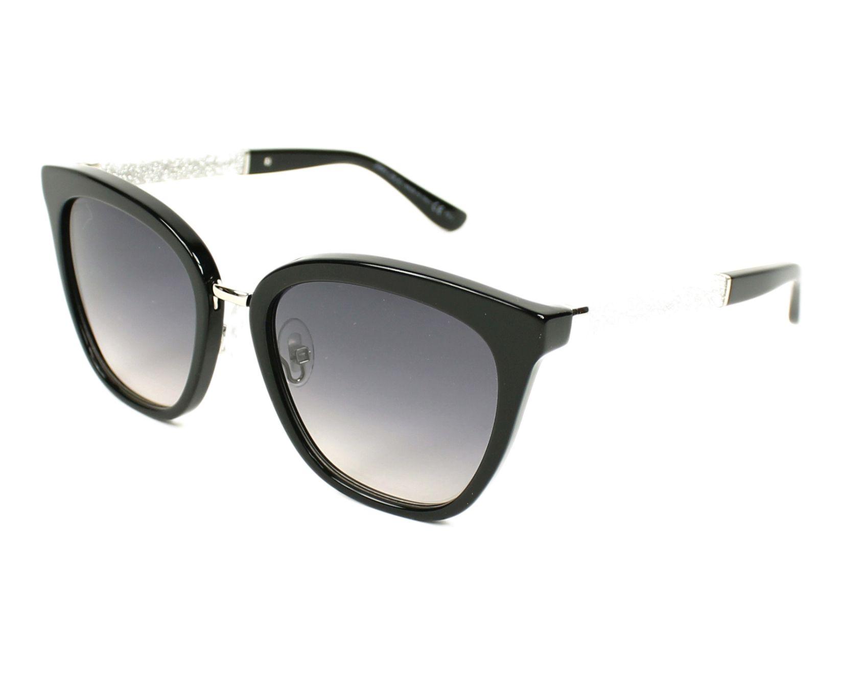 754018c94e9 Jimmy Choo Sunglasses FABRY-S FA3 9C 53-19 Black Silver