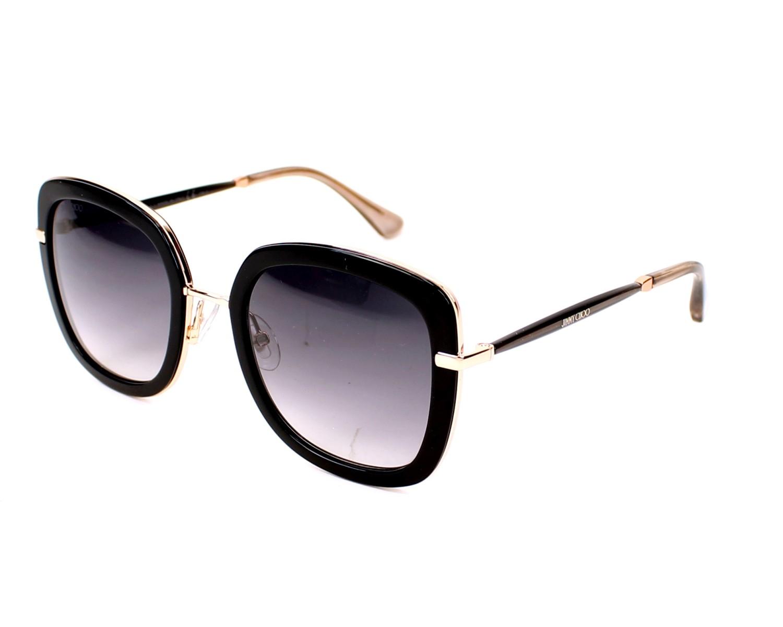 Jimmy Choo Sunglasses Black With Black Lenses Glenn S Qbe