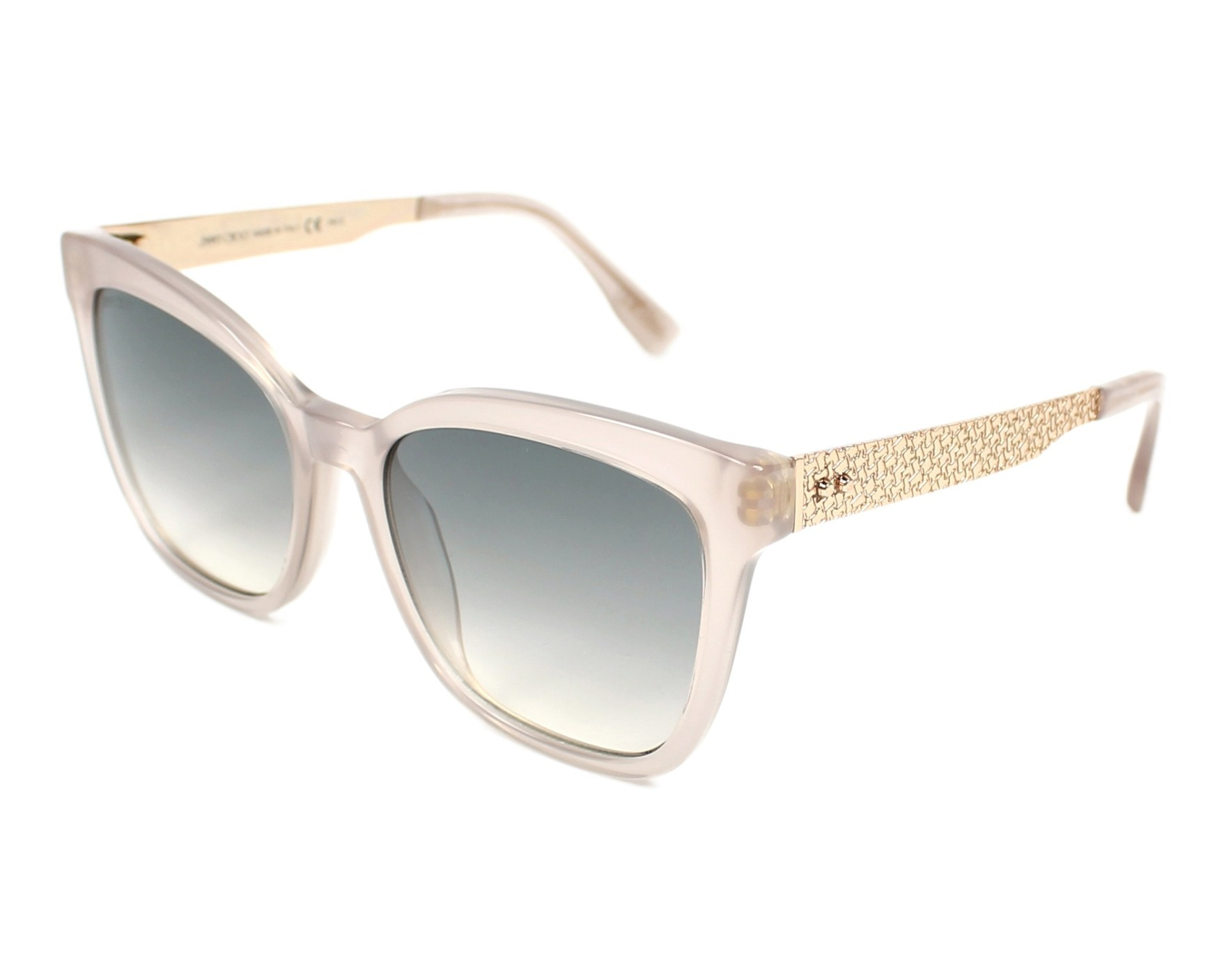 Jimmy Choo Junia/S Sonnenbrille Rosa und Gold PR5 55mm HhMPdpQY