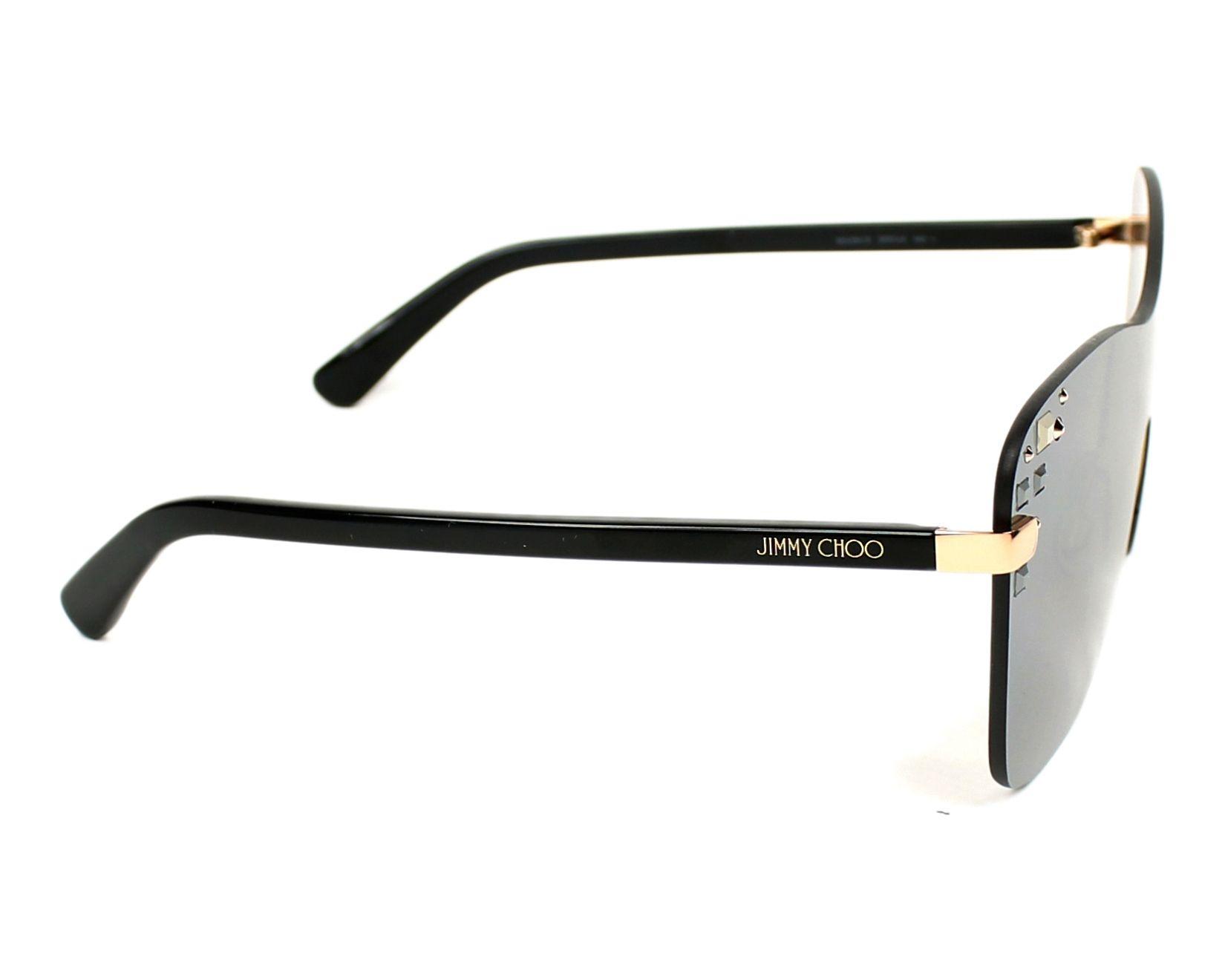 69bbaa737fe thumbnail Sunglasses Jimmy Choo MASK-S SRF U4 - Black side view