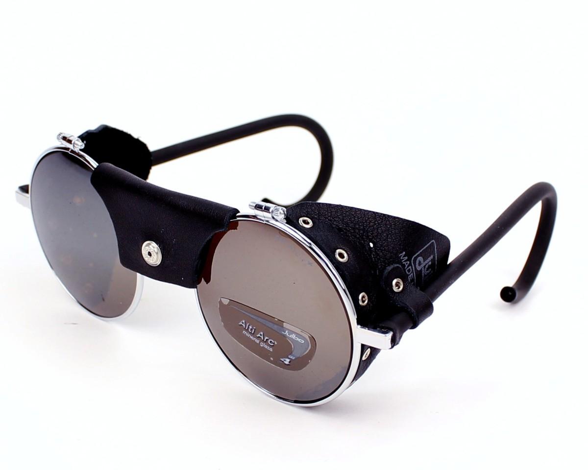 49f8e53bf3a Sunglasses Julbo J010 14125 - Silver Black profile view