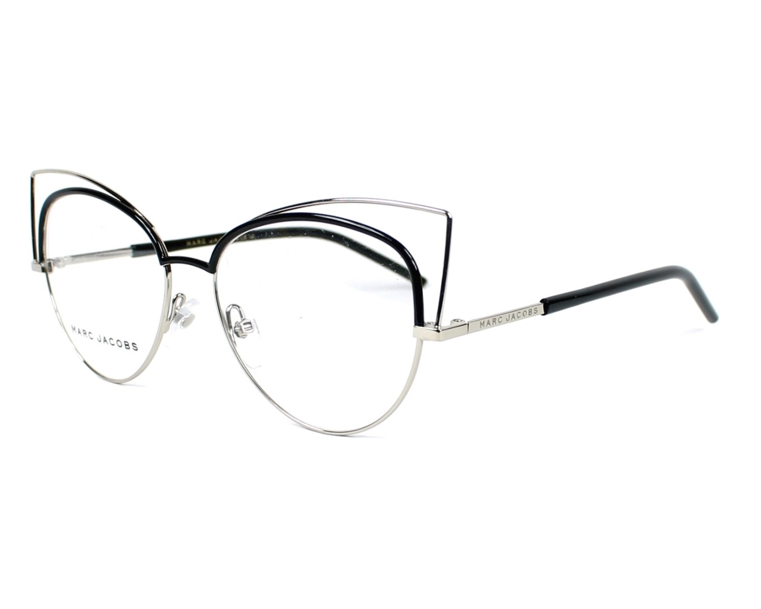 marc jacobs eyeglasses marc 12 uuv black visio. Black Bedroom Furniture Sets. Home Design Ideas