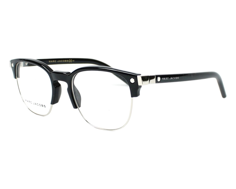 marc jacobs eyeglasses marc 23 807 black visio. Black Bedroom Furniture Sets. Home Design Ideas