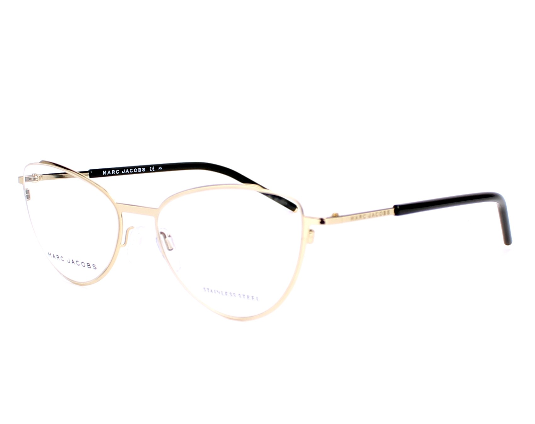 marc jacobs eyeglasses marc 40 rhl gold visio. Black Bedroom Furniture Sets. Home Design Ideas