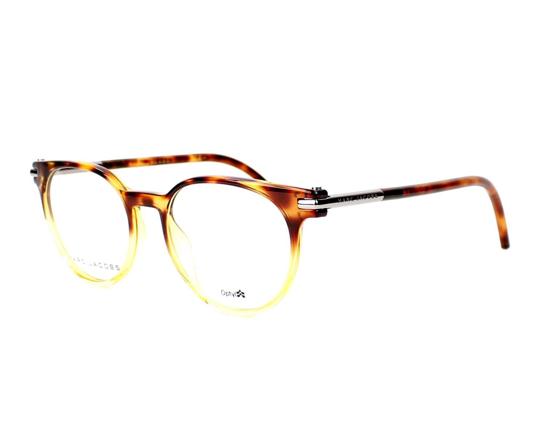marc jacobs eyeglasses marc 51 tmf brown visio. Black Bedroom Furniture Sets. Home Design Ideas