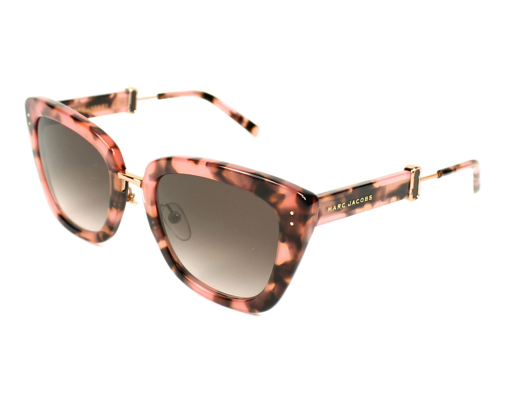f7d761e6951a6 Sunglasses Marc Jacobs Marc-131-S PAY 53-23 Pink Gold profile view