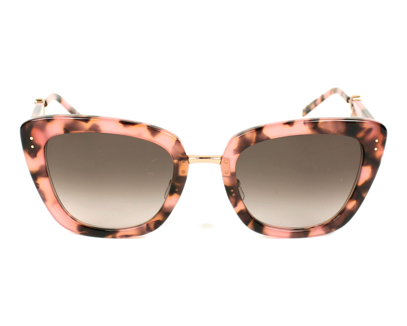 f57ea17409d7a Sunglasses Marc Jacobs Marc-131-S PAY 53-23 Pink Gold front view