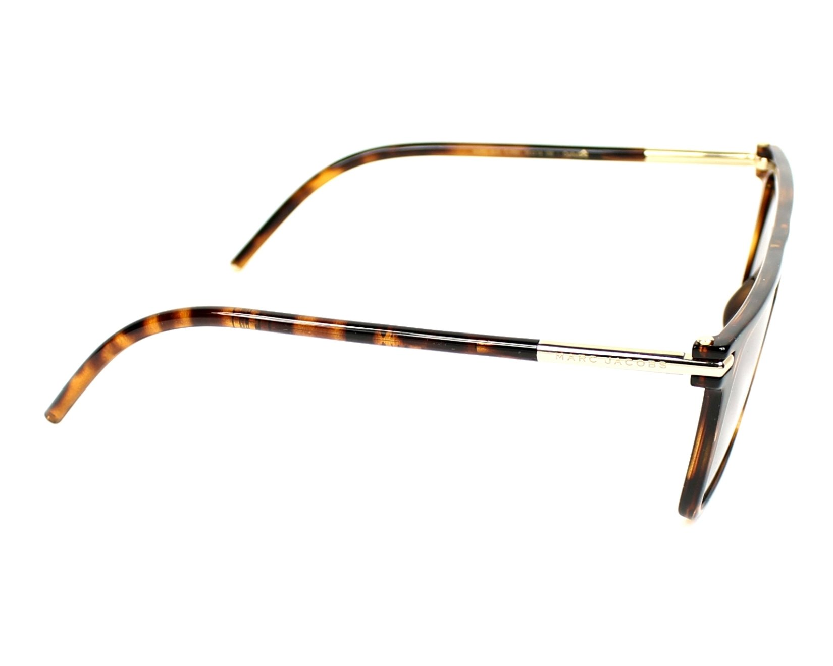 b359f48945 Sunglasses Marc Jacobs Marc-46-S TLR 8H 55-14 Brown side