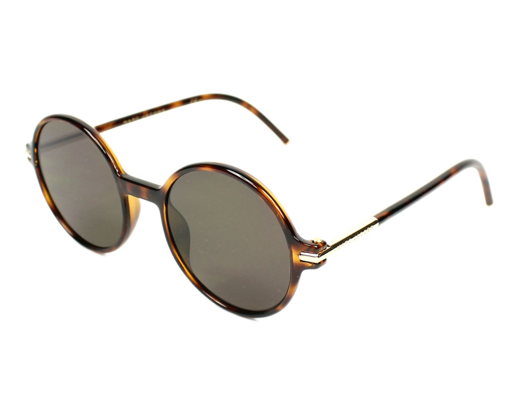 Sunglasses Marc Jacobs Marc-48-S TLR 8H 52-21 Brown profile 71e6ec375e5f