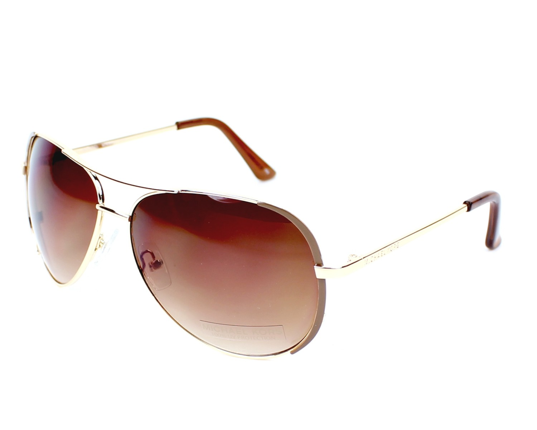 4bbb18a68358 Sunglasses Michael Kors M-3001-S 717 - Gold profile view