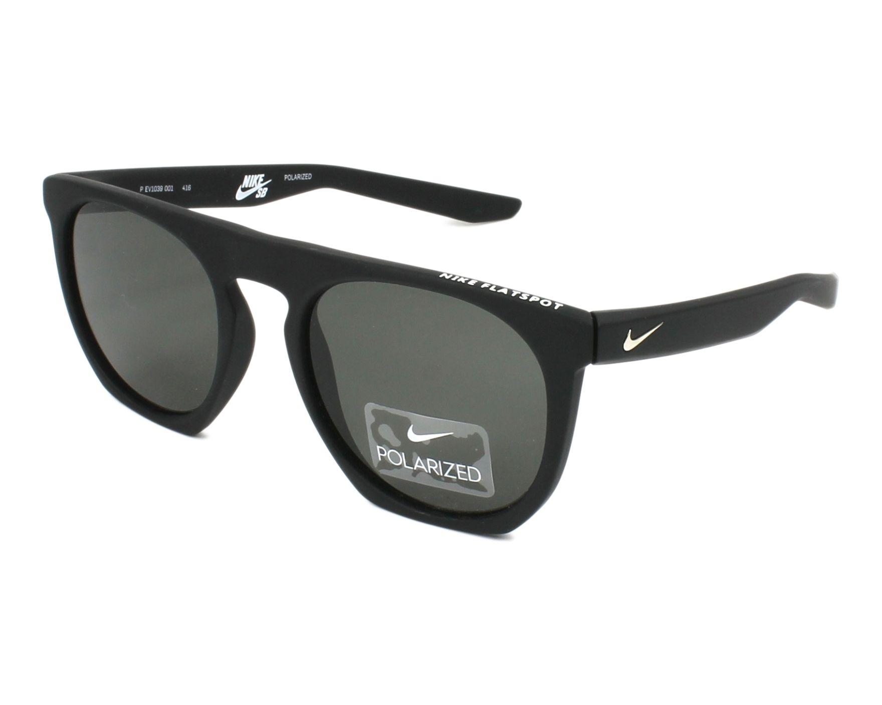 Sunglasses Nike EV-1039 001 52-20 Black profile view 56852dd86fc1