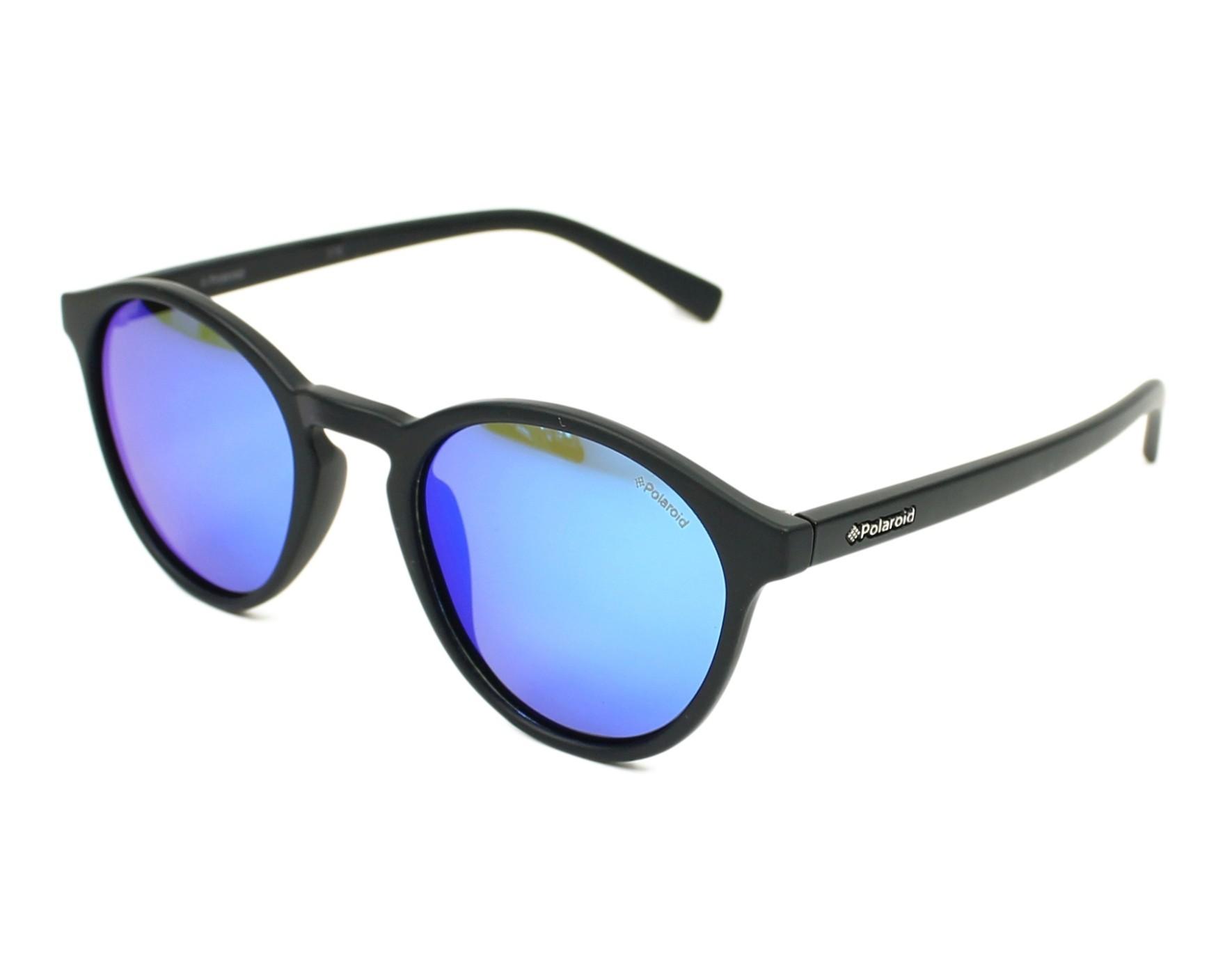 6379ac78ad9 Sunglasses Polaroid PLD-6013-S DL5 JY 50-22 Black profile view