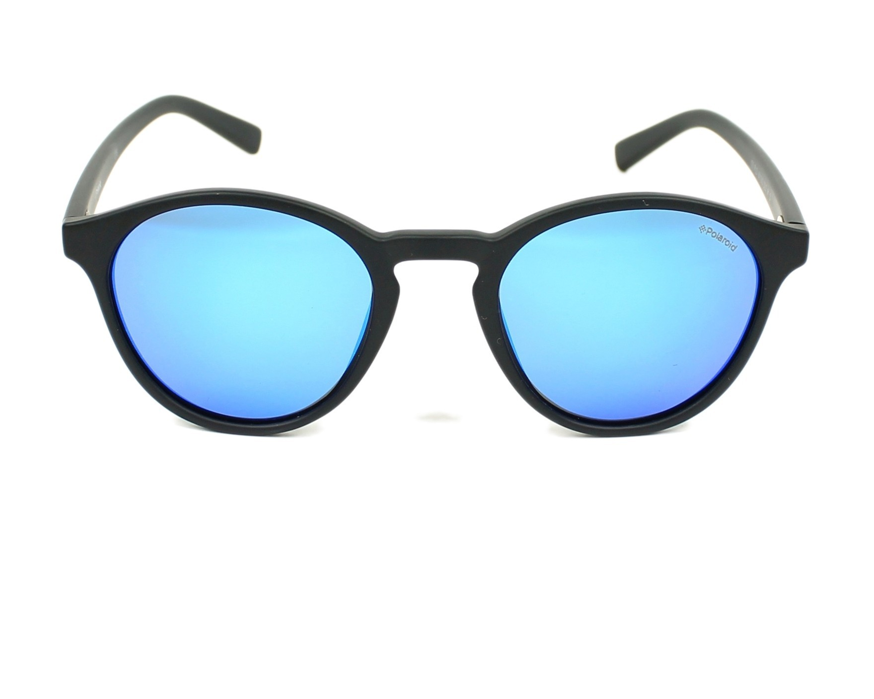 e3abe127837 Sunglasses Polaroid PLD-6013-S DL5 JY 50-22 Black front view
