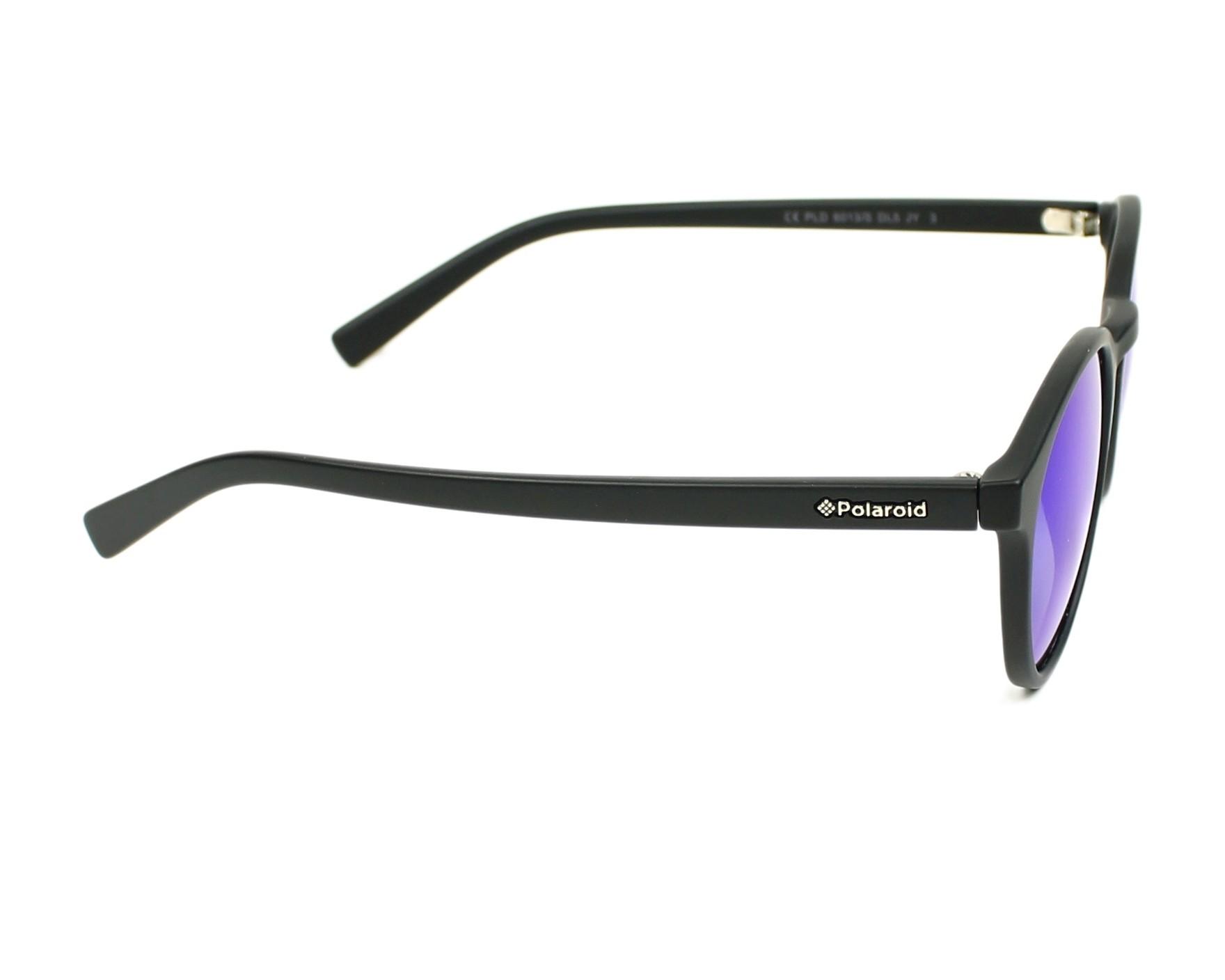 4310163a5adc Sunglasses Polaroid PLD-6013-S DL5 JY 50-22 Black side view