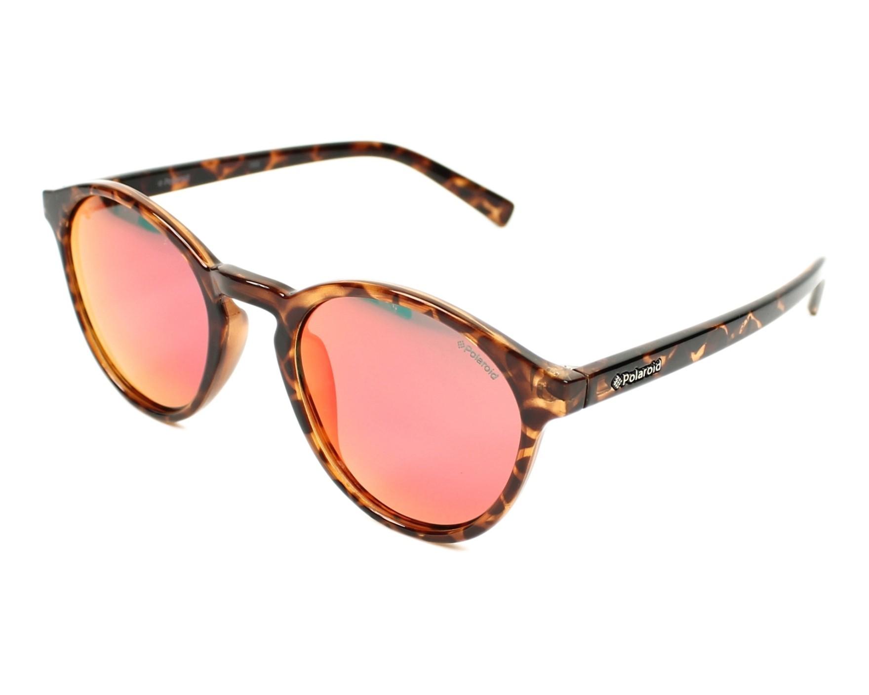 785d4d73d7a Sunglasses Polaroid PLD-6013-S PPT OZ 50-22 Havana profile view