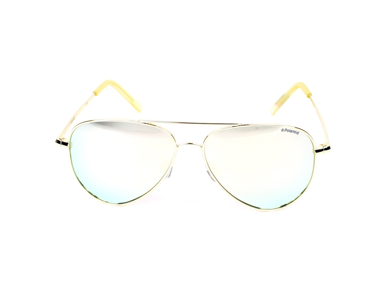 7c230bef87a Sunglasses Polaroid PLD-8015-N J5G JB 52-12 Gold front view