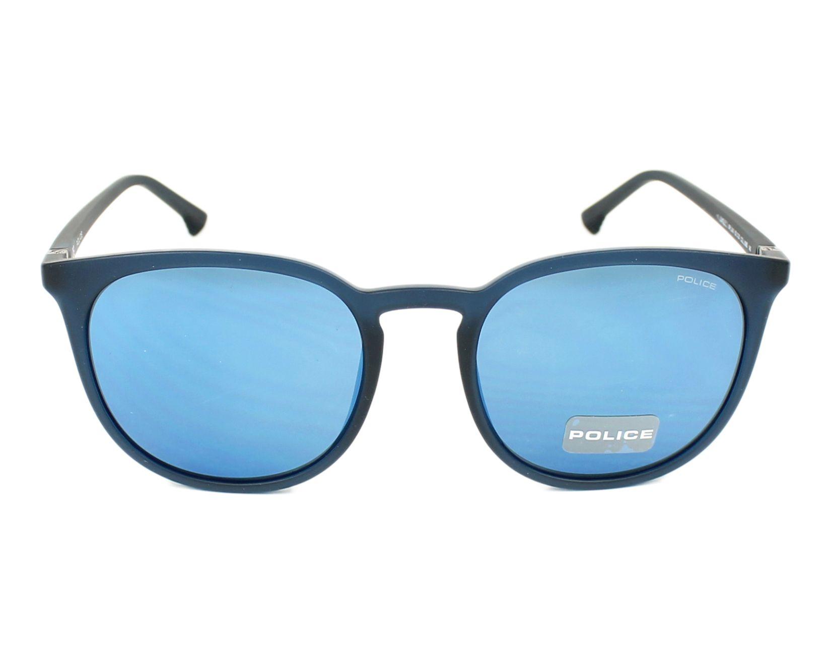 thumbnail Sunglasses Police SPL-343 U58B - Blue Blue front view cfefba0b94