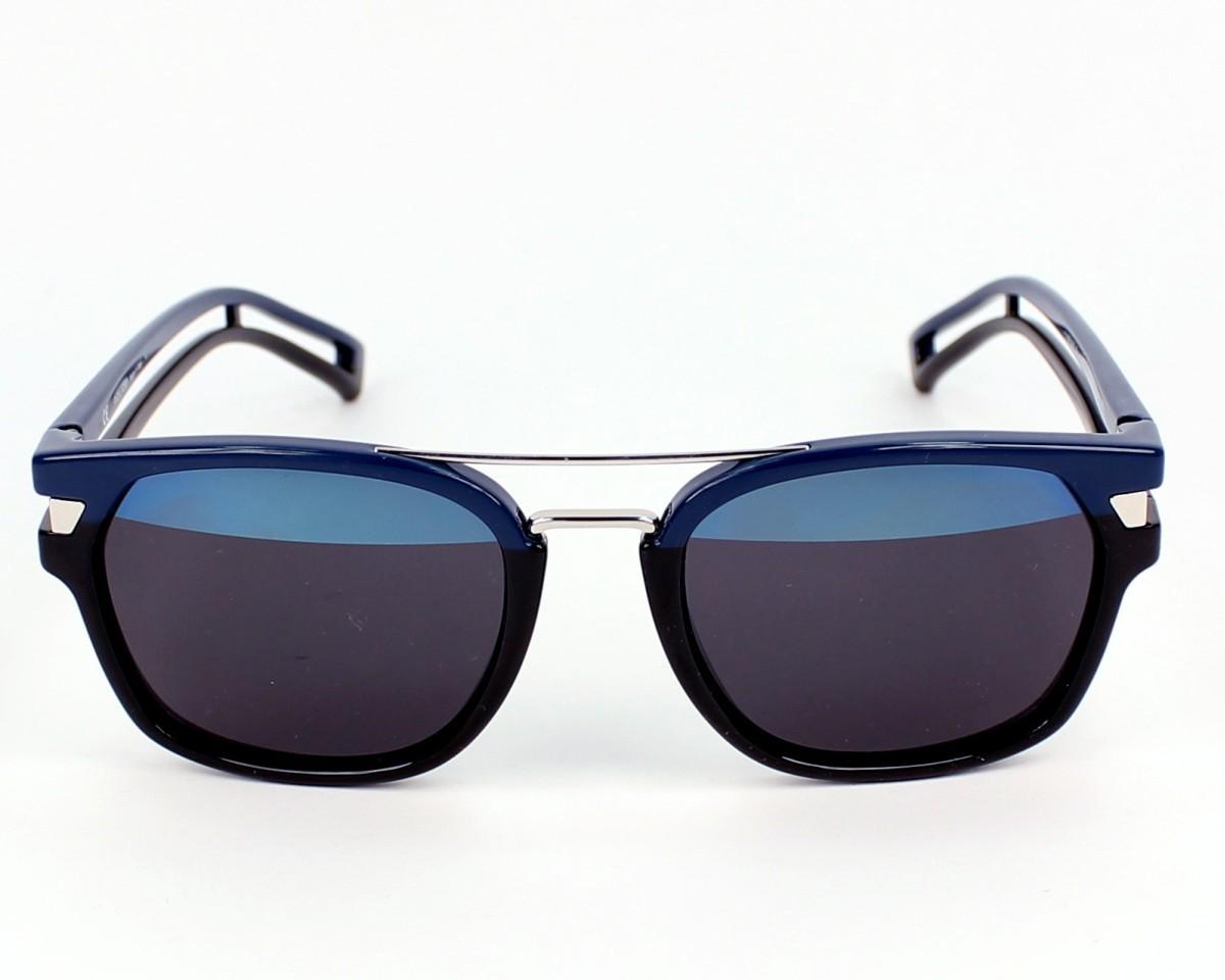 6ada37e219e Sunglasses Police S-1948 1FHH 52-20 Black Blue front view