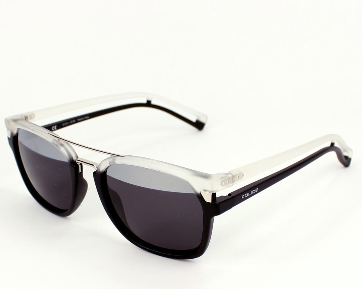 0d08ff407be Sunglasses Police S-1948 NVAH - Black White profile view