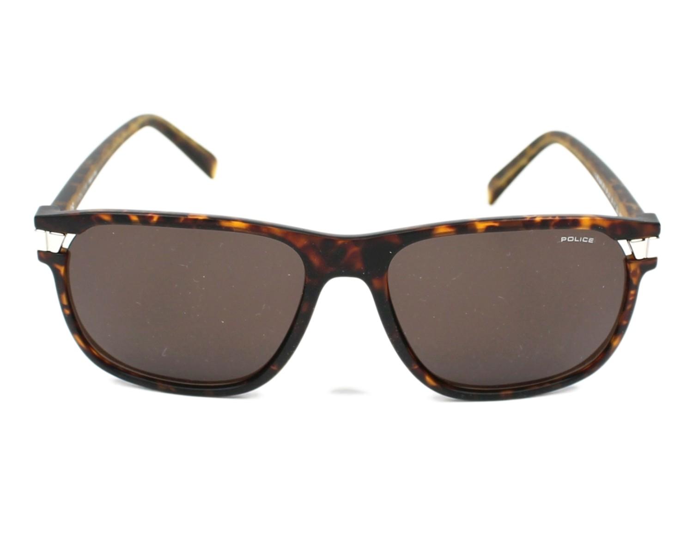 cd6a093e73 Sunglasses Police SPL-231 0878 - Havana Silver front view