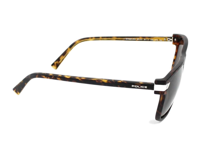 c8570b6f20 Sunglasses Police SPL-231 0878 - Havana Silver side view