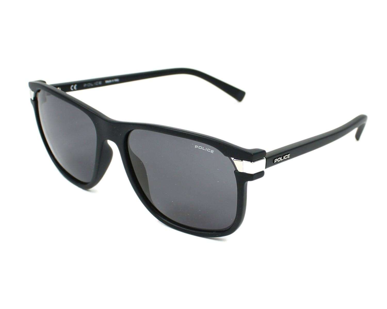 28d4d5cc4d thumbnail Sunglasses Police SPL-231 0U28 - Black Silver profile view