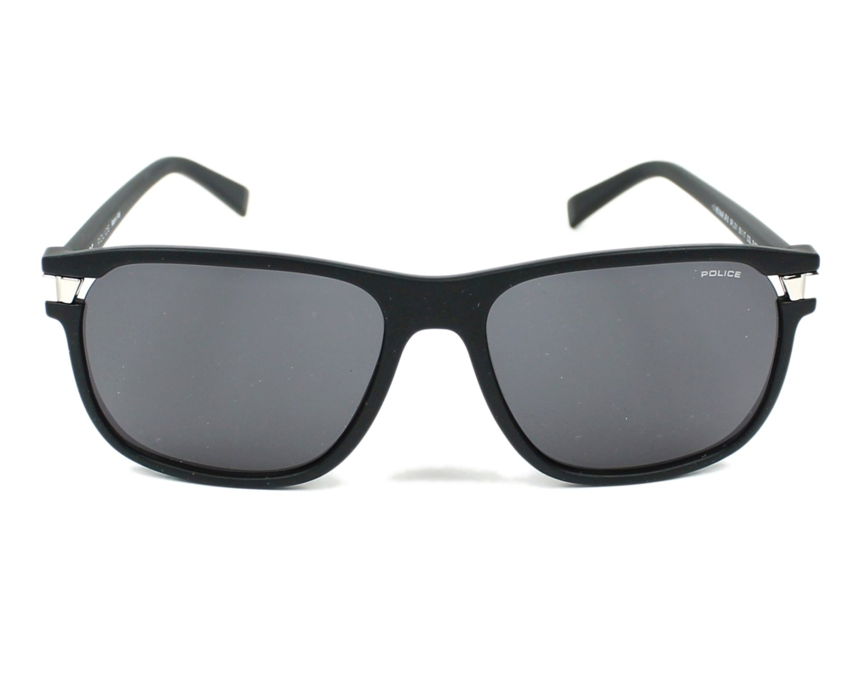 4c8ffecc5d thumbnail Sunglasses Police SPL-231 0U28 - Black Silver front view