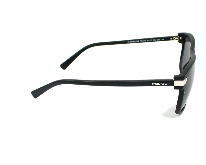 20997cc368 thumbnail Sunglasses Police SPL-231 0U28 - Black Silver side view