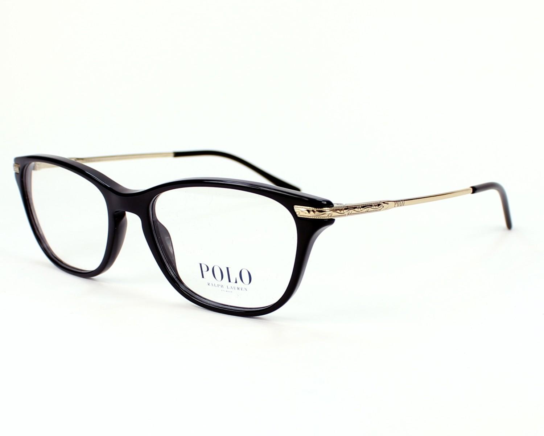 Eyeglasses Polo Ralph Lauren Black - Gold - PH2135 5001