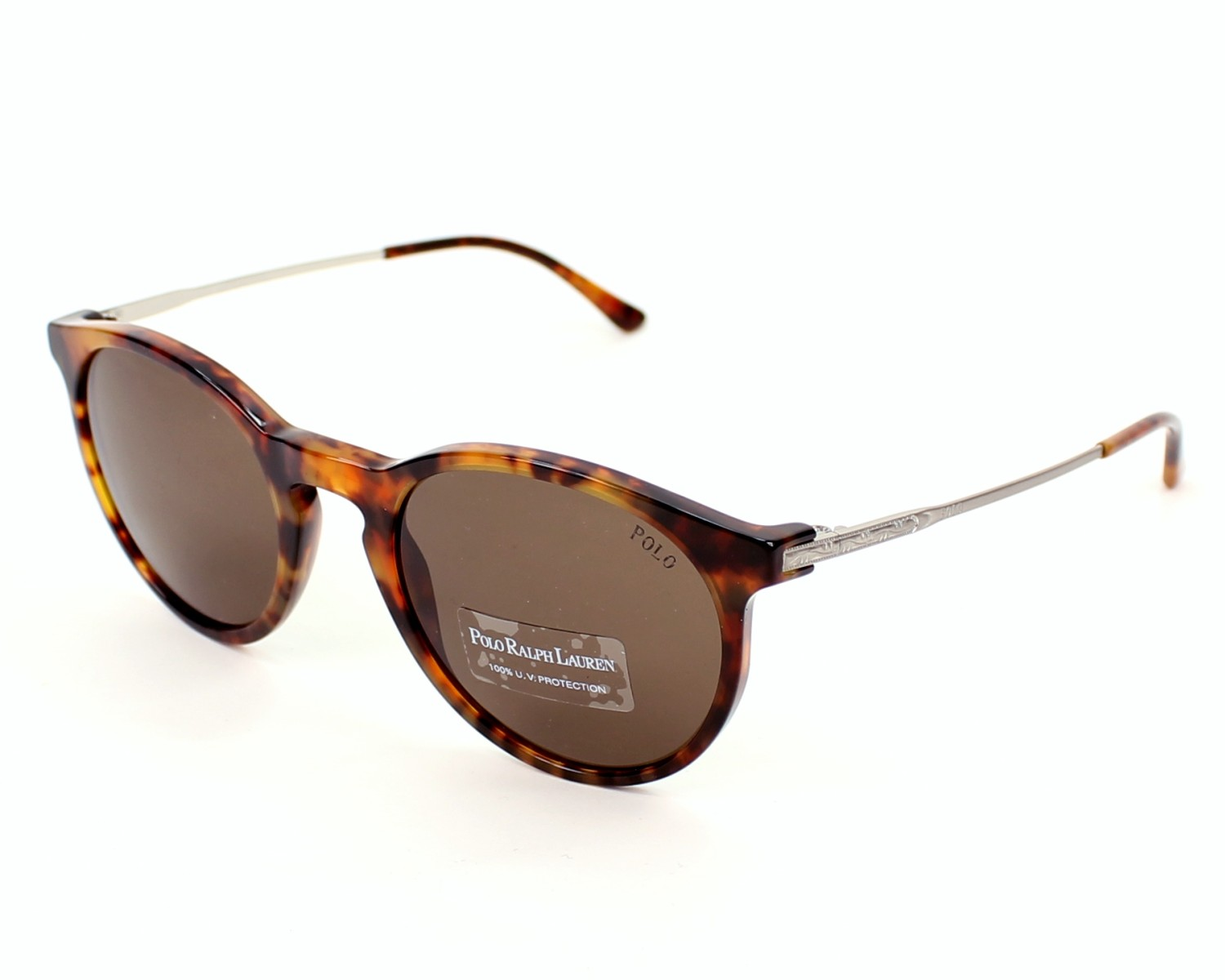 afe1b79d2324e Sunglasses Polo Ralph Lauren PH-4096 5017 73 50-20 Havana Silver profile
