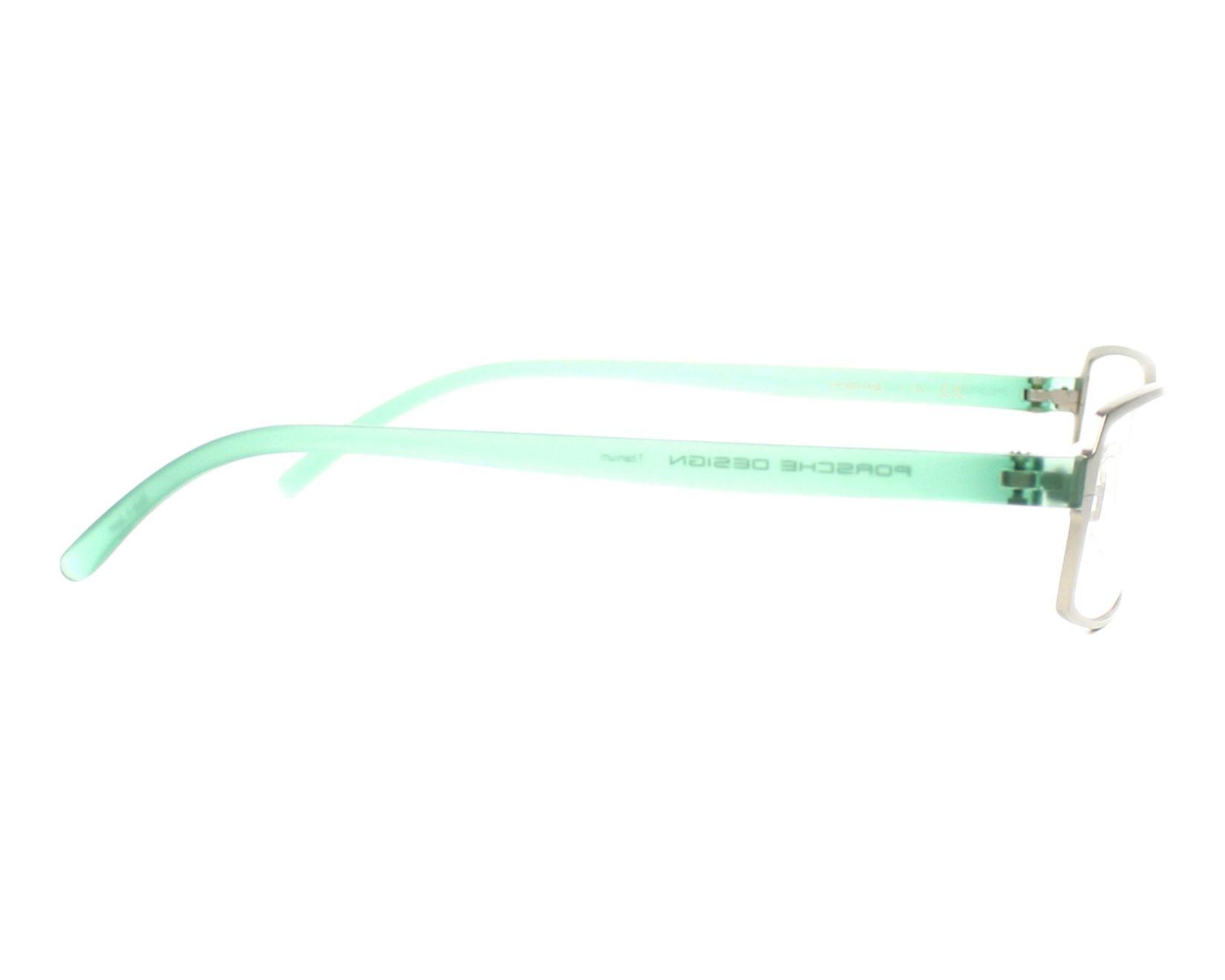 83a5e4e5679 eyeglasses Porsche Design P-8145 F 55-19 Silver Green side view