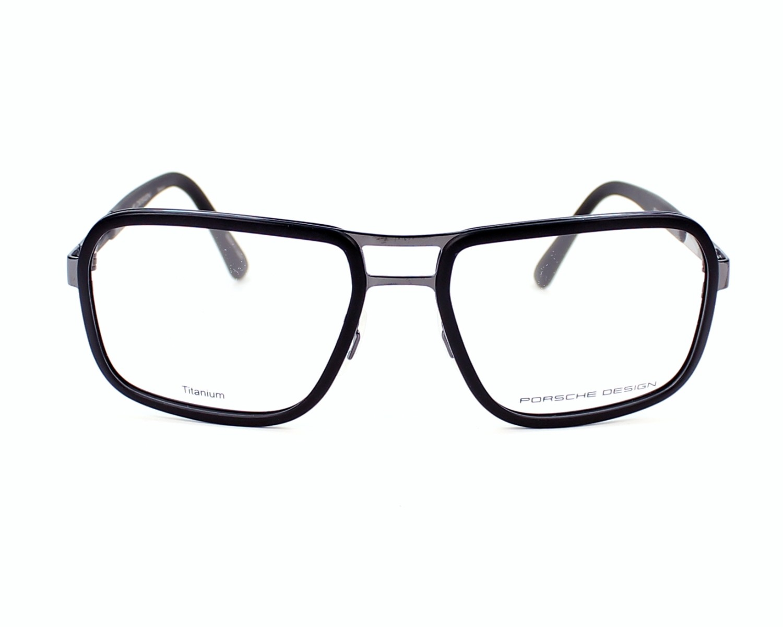 690c5fcde0810 eyeglasses Porsche Design P-8219 A - Black Gun front view