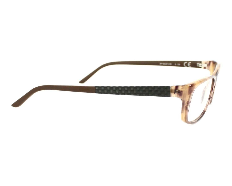 41ab8ee7b39 eyeglasses Porsche Design P-8243 B 54-15 Brown Carbon side view