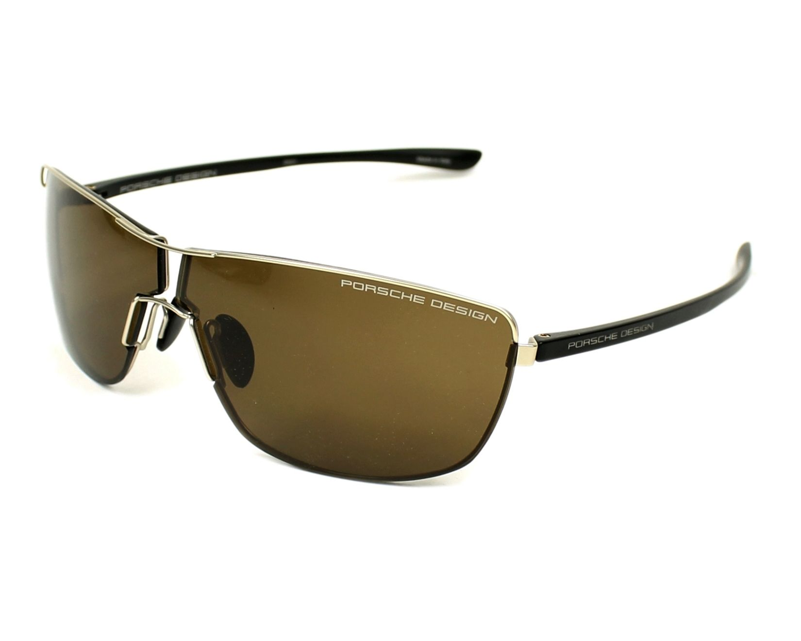 Porsche Design Sunglasses Black with Brown Lenses P-8616 B ...