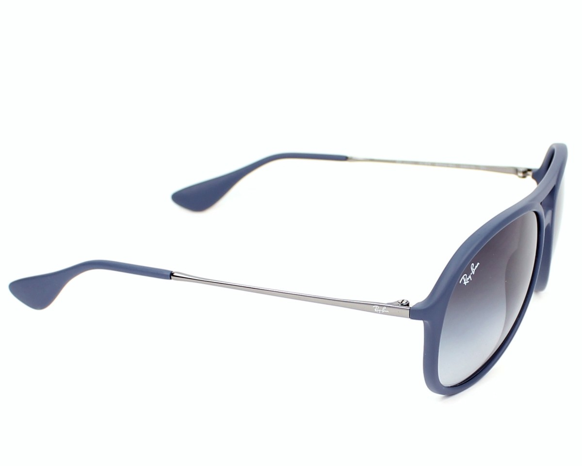 c27ad666c65 thumbnail Sunglasses Ray-Ban RB-4201 6002 8G - Blue Gun side view