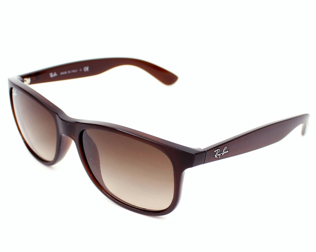 2084143cfd thumbnail Sunglasses Ray-Ban RB-4202 6073 13 - Brown profile view
