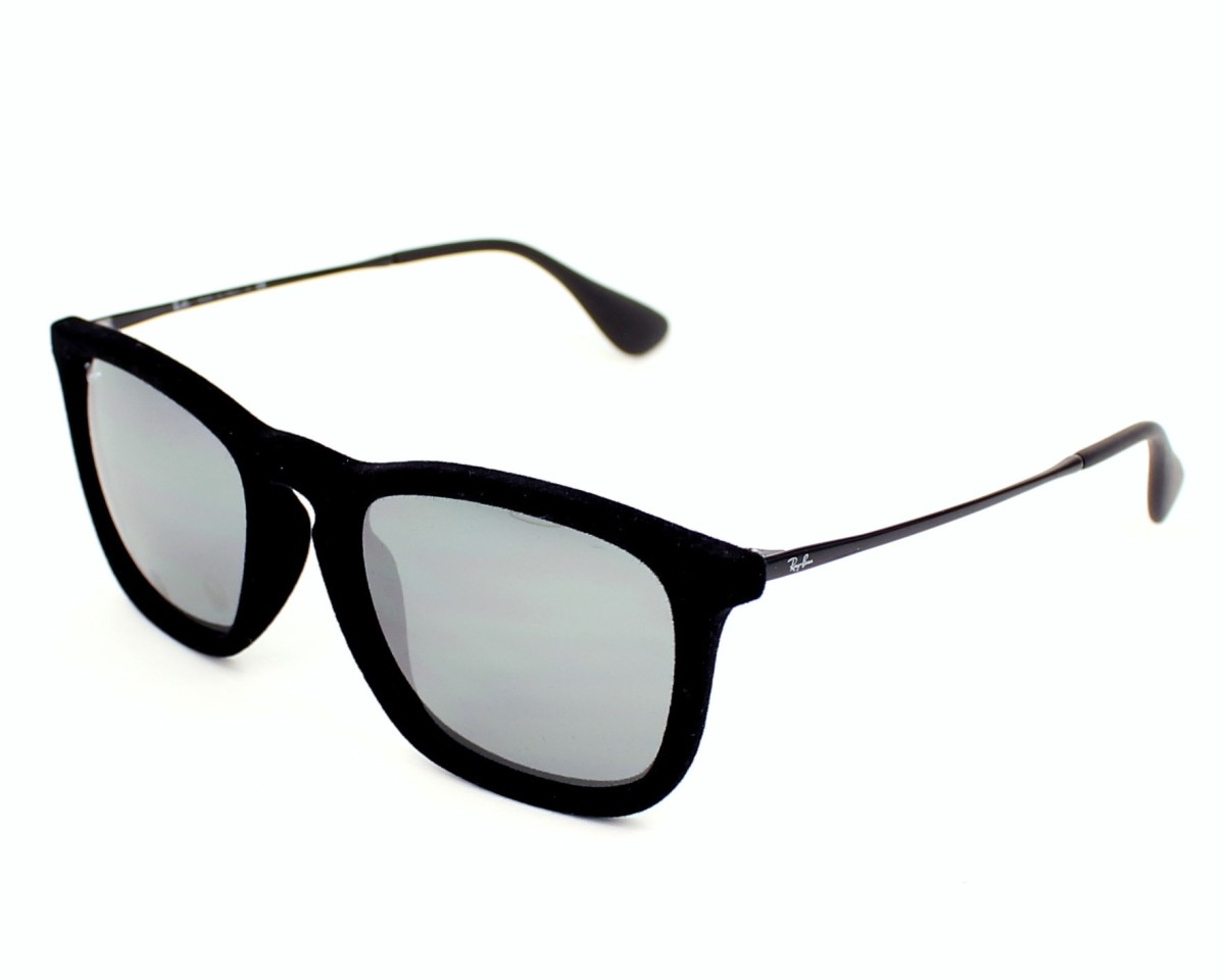 375629c2eaf17c thumbnail Sunglasses Ray-Ban RB-4187 6075 6G - Black profile view